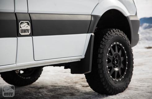 Sprinter Van Camper Wheel Upgrade