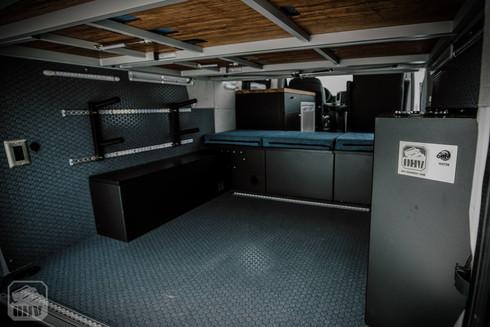 Sprinter Van Camper Gear Storage