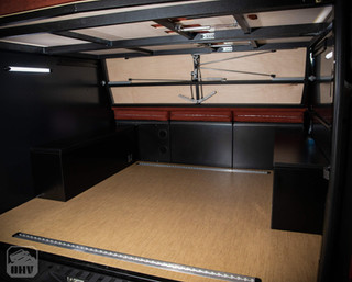 Sprinter Van Camper Gear Storage