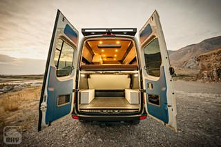 Sprinter Van Camper Rear View