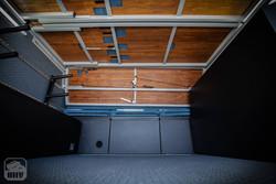 Sprinter Van Camper Garage Area