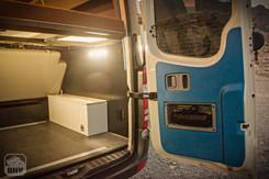 Sprinter Van Camper Rear Storage