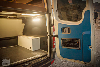 Sprinter Van Camper Fender Box
