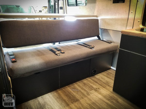 Promaster Van Camper Passenger Bench Seat