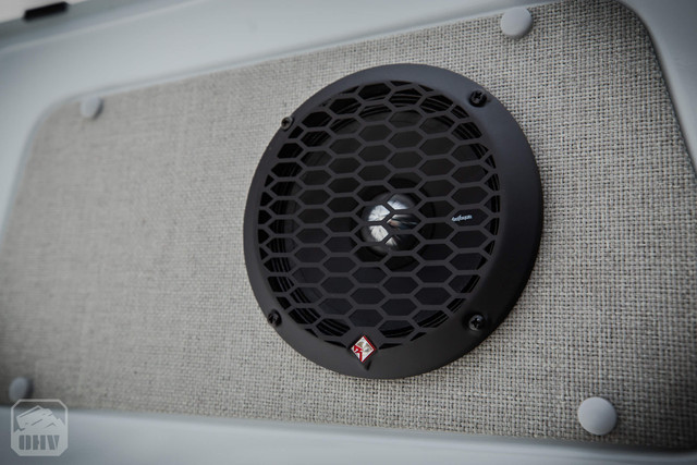 Sprinter Van Camper Rear Door Speakers