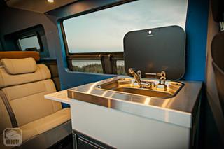 Sprinter Van Camper Sink