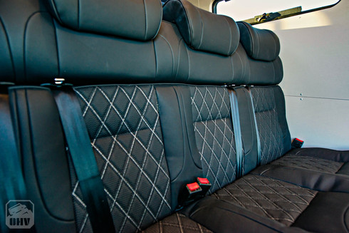 Sprinter Van Camper Rear Passenger Seats