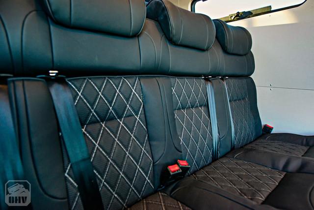2019 Sprinter Van Camper Passenger Seating