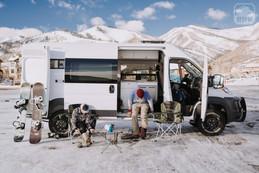 Promaster Van Camper Campsite Setup