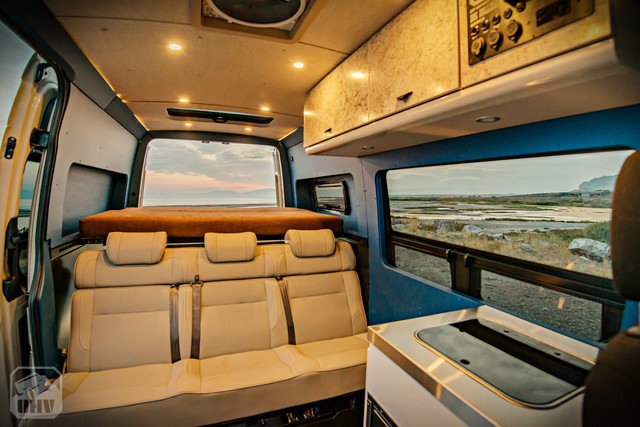 Sprinter Van Camper Interior Windows
