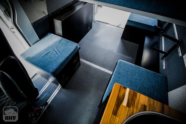 Sprinter Van Camper Modular Cargo Storage