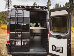 Promaster Van Camper Rear Ladder