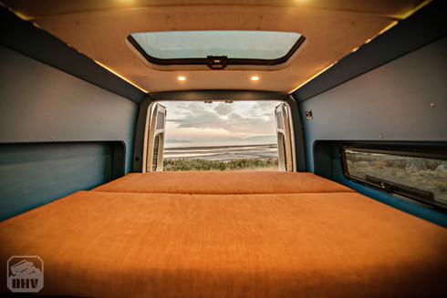 Sprinter Van Camper Bed System