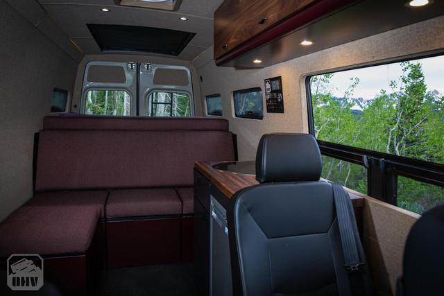 Sprinter Van Camper Seating Area