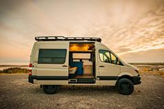 Sprinter Van Camper Sliding Door