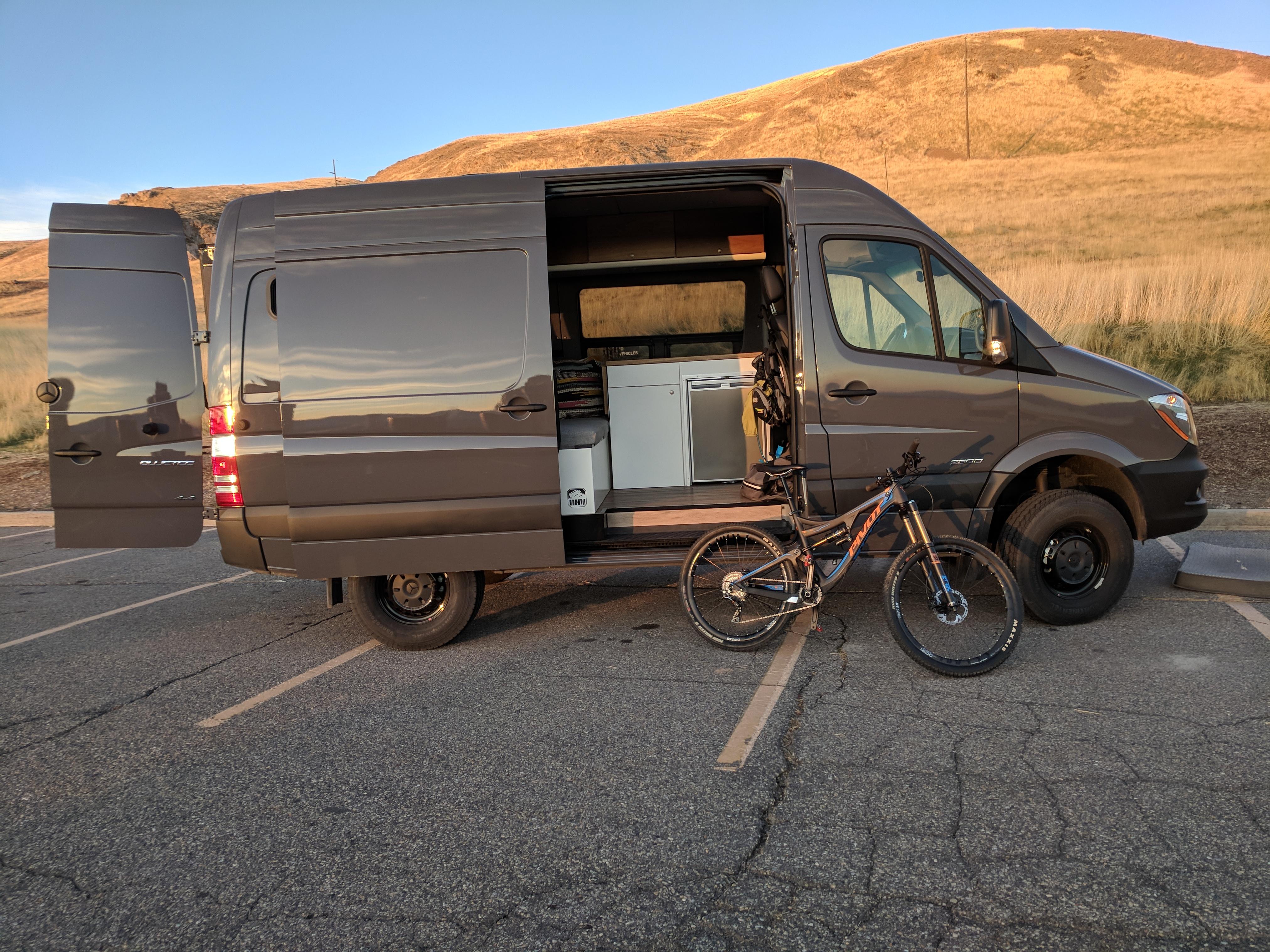 Van Conversion Upfitter   Salt Lake City Utah   Off Highway Van