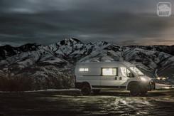 Promaster Van Camper Mountain View at Night