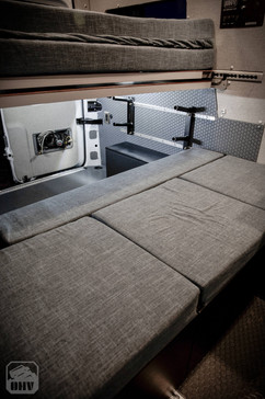 Sprinter Van Camper Bench System