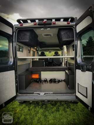 Promaster Van Camper Rear Build Out