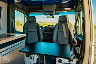 Sprinter Van Camper Swivel Seating for Kitchen
