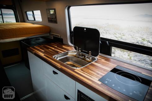 Sprinter Van Camper Kitchen Countertop