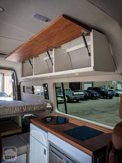 Sprinter Van Camper Kitchen Storage