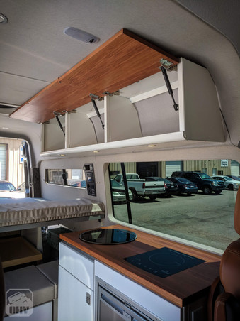 Sprinter Van Camper Kitchen Storage