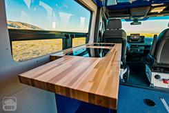 Sprinter Van Camper Expandable Kitchen Counter