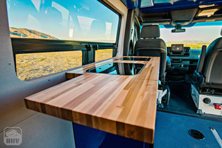 2019 Sprinter Van Camper Stowaway Counter