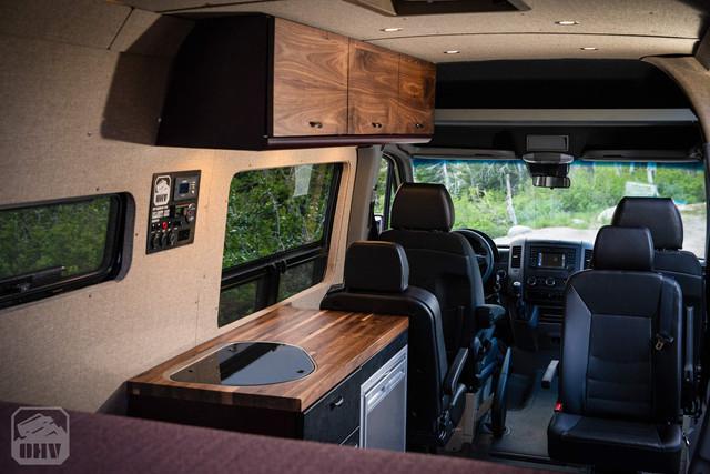 Sprinter Van Camper Custom Kitchen