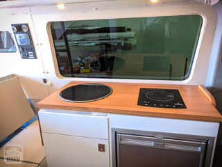Sprinter Van Camper Kitchen Coutnertop