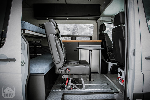 Sprinter Van Camper Removable Seat