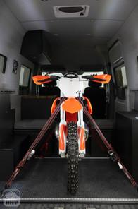 Sprinter Van Camper Moto Storage