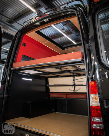 Sprinter Van Camper Rear Storage