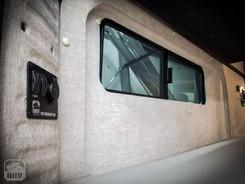 Promaster Van Camper Rear Bed Windows