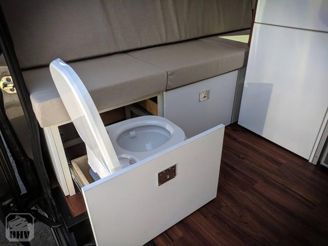 Sprinter Van Camper Toilet