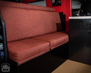 Sprinter Van Camper Lounge Seating