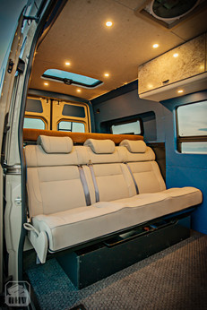 Sprinter Van Camper Beanch Seating