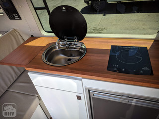 Sprinter Van Camper Kitchen Sink & Stove