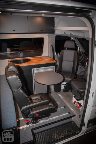 Sprinter Van Camper Passenger Area