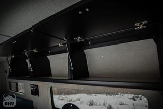 Sprinter Van Camper Upper Kitchen Cabinets