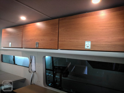 Sprinter Van Camper Kitchen Cabinets