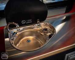 Sprinter Van Camper Sink and Stove