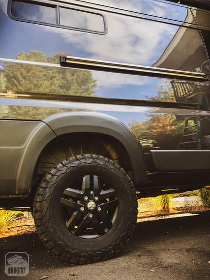 Promaster Van Camper Lift Kit