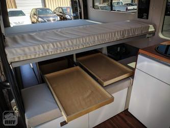Sprinter Van Camper Drawer Storage