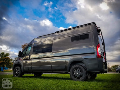 Promaster Van Camper Side Windows