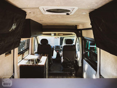 Promaster Van Camper Interior Build