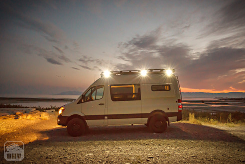 Sprinter Van Camper Exterior Lights