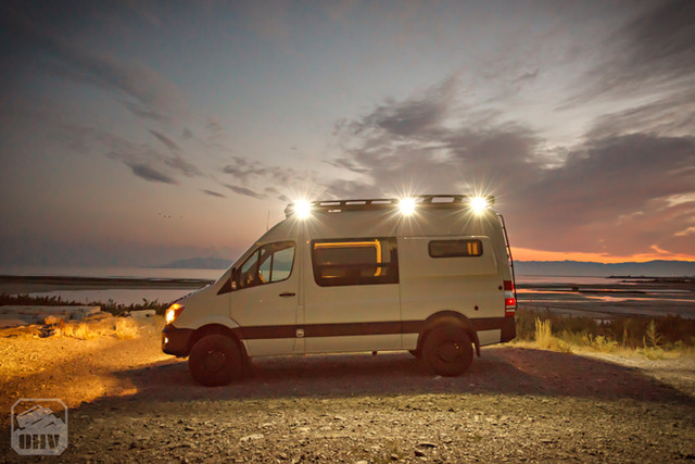 Sprinter Van Camper Exterior Lights