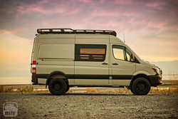 Sprinter Van Camper Side View